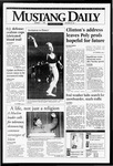 Mustang Daily, January 26, 1995