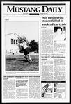 Mustang Daily, April 4, 1995