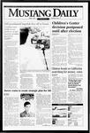 Mustang Daily, April 7, 1995