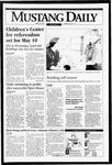 Mustang Daily, April 28, 1995