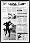 Mustang Daily, May 8, 1995
