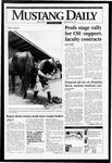 Mustang Daily, May 9, 1995