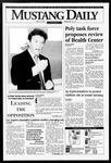 Mustang Daily, May 12, 1995