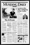 Mustang Daily, May 16, 1995