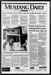 Mustang Daily, September 27, 1995