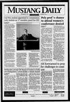 Mustang Daily, September 29, 1995