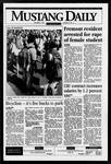 Mustang Daily, October 6, 1995