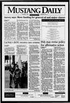 Mustang Daily, October 9, 1995