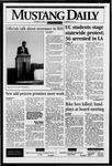 Mustang Daily, October 13, 1995