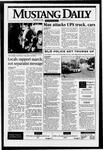 Mustang Daily, October 18, 1995