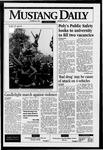 Mustang Daily, October 20, 1995