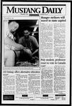 Mustang Daily, November 1, 1995