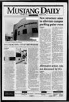 Mustang Daily, November 7, 1995