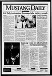 Mustang Daily, November 27, 1995