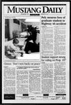 Mustang Daily, November 28, 1995