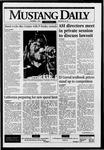 Mustang Daily, December 1, 1995