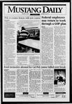 Mustang Daily, January 5, 1996