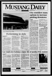 Mustang Daily, January 8, 1996