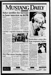 Mustang Daily, January 11, 1996