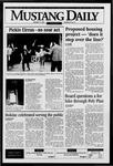 Mustang Daily, January 12, 1996