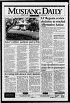 Mustang Daily, January 18, 1996