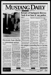 Mustang Daily, January 22, 1996