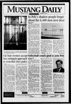 Mustang Daily, January 25, 1996