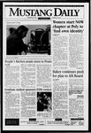 Mustang Daily, January 26, 1996