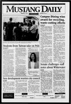 Mustang Daily, February 9, 1996