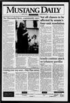 Mustang Daily, April 15, 1996