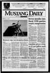 Mustang Daily, April 25, 1996