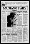 Mustang Daily, May 13, 1996