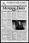 Mustang Daily, May 14, 1996