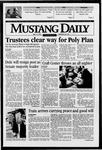 Mustang Daily, May 16, 1996