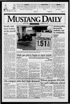 Mustang Daily, May 21, 1996