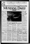 Mustang Daily, May 30, 1996