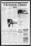 Mustang Daily, October 3, 1996