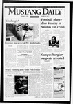 Mustang Daily, October 8, 1996