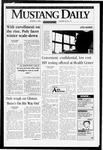 Mustang Daily, October 9, 1996