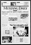 Mustang Daily, October 15, 1996