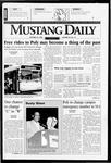 Mustang Daily, October 18, 1996