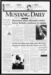 Mustang Daily, October 21, 1996