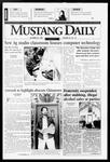 Mustang Daily, October 22, 1996