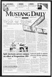 Mustang Daily, October 31, 1996