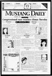 Mustang Daily, November 1, 1996