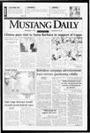 Mustang Daily, November 4, 1996