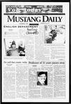 Mustang Daily, November 5, 1996