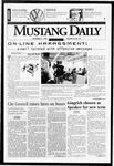 Mustang Daily, November 21, 1996
