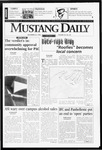 Mustang Daily, November 22, 1996