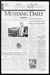 Mustang Daily, November 25, 1996
